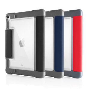 etui tablette avec face arrière transparente