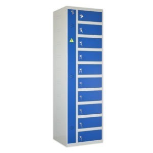 armoire de stockage pour 10 portables