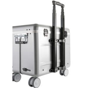 valise avec poignée téléscopique