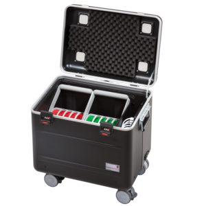 valise tablette avec paniers