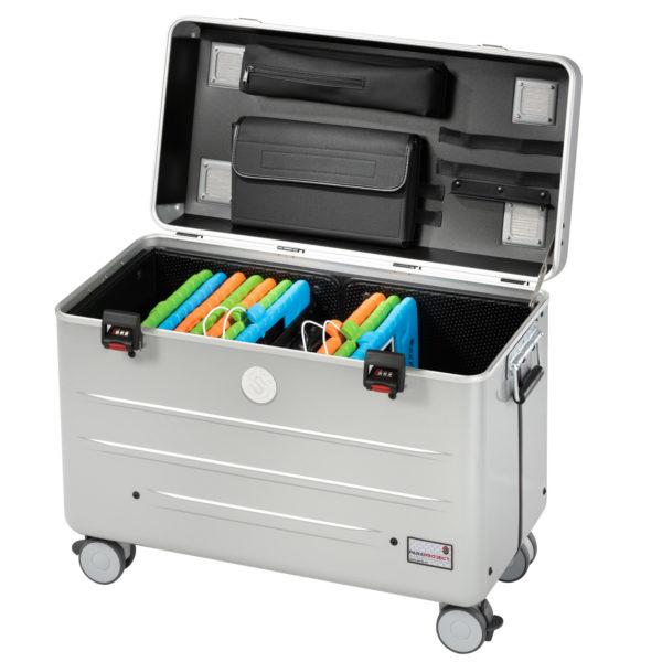 valise pour 20 tablettes aevc etuis kidscover