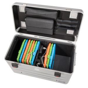 valise sans séparations tablettes