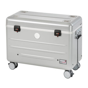valise couleur silver